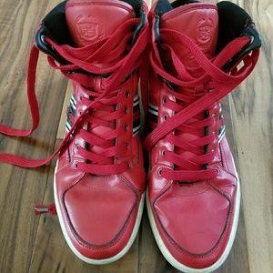 f170e4d92e2 cadillac Shoes - Red leather Cadillac kicks 12 shoes Streetwear